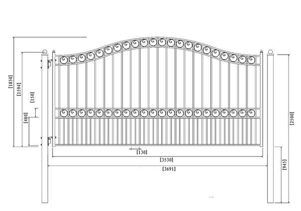 Распашные ворота своими руками. 825.jpeg