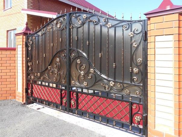 Распашные ворота своими руками. 828.jpeg